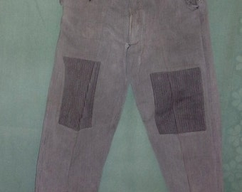 Old work pants, countryside, firm, collection