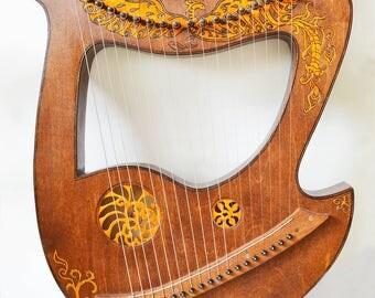 "Liara ""Firebird"" C major Lyre instrument"
