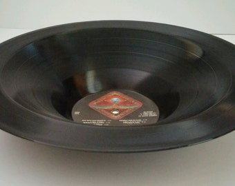 """Journey Recycled Smooth Vinyl Record Bowl """"Departure"""""""