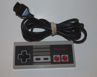 Official Nintendo NES Controller OEM Original Paddle Remote Tested, Works!