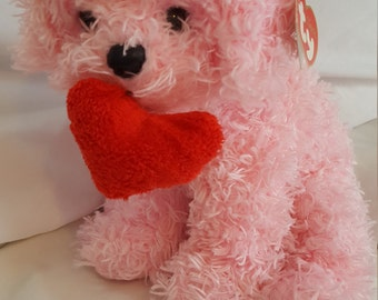 Valentines Beanie Baby Plush: Pups N' Kisses (Adorable Puppy)