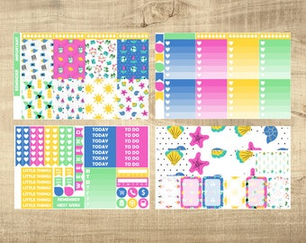 Happy Holidays 4 Page Weekly Kit for Erin Condren Vertical LifePlanner