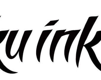OtakuInk.com Temporary Tattoo