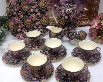 Royal Winton Nantwich Chintz Coffee/hot chocolate set