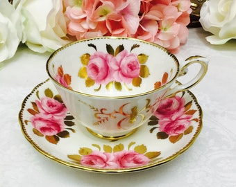 Royal Chelsea teacup and saucer.