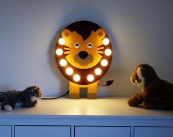 "Sign light ""lion""Lionel""Just a Spark"