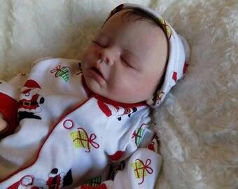 Reborn baby Custom Sam by Marissa May newborn girl doll made to order
