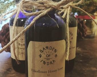 Wildcrafted ElderFlower Honey Syrup
