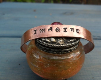 Copper Cuff:  Imagine