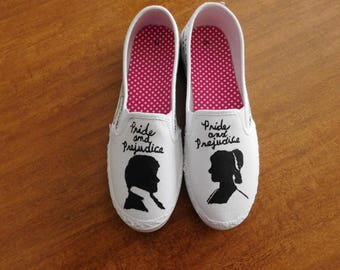 Literary Shoes: Pride and Prejudice Shoes