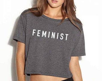 Feminist Tee, Future is Female tee, Feminist Shirt, Feminist Crop Top