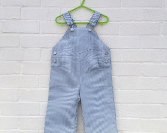 Traditional style dungaree trousers (handmade)