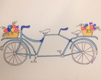 Sunday Afternoon Bicycle Print