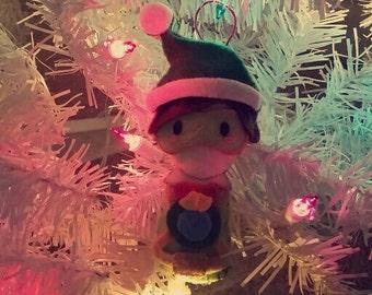 Tracer Overwatch Winter Wonderland Ornament/Charm