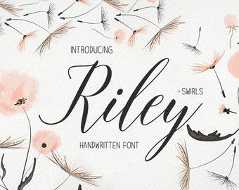 Font Digital downloadable Font download Calligraphy font Handwritten font script font Wedding font Instant download script font download