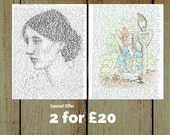 2 - 4 - 20  ----  Any Two A3 format for Twenty Pounds