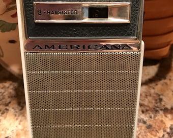 Americana 8 Transistor Radio