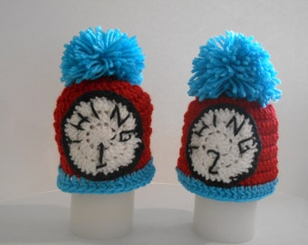Twin Thing Crocheted Hats