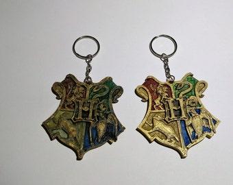 Hogwarts Crest Keyring