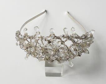 Starburst Austrian Swarovski Crystal Tiara