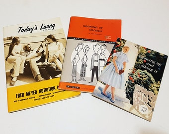 Lot of Three Vintage 'Youth Coming of Age Booklets'