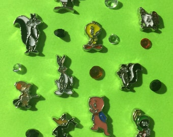 Looney Tunes Floating Charms