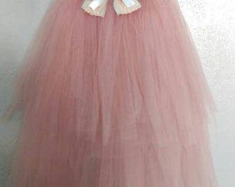 Pink tutu dress and hair bow included,elegant tutu,Party tutu,costume party tutu