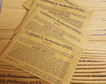 Cushing Perfection Acid Dyes,colors that begin with N thru Z, for wool, mohair and other animal fibers