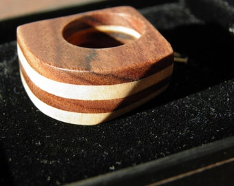 Indian Rosewood Tree Wooden Ring for the gentlemans