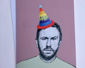 IT Crowd Illustrative A5 Birthday Card