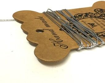 10M, silver glitter thread, stringing thread, silver beading thread, 1mm thread, silver metallic thread, sewing supplies, jewellery making