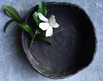 Charcoal Pinch Bowl