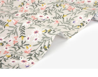 DailyLike Fabric (Cotton) - Beautiful moment : kaya