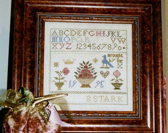 Wrought By Me by Ewe, Eye & Friends Counted Cross Stitch Pattern/Chart