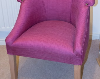 Pink Tub Chair