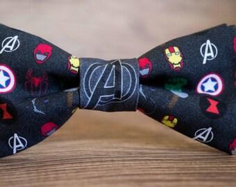 Avengers Bow tie