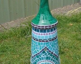 Mosaic outdoor light 12volt patio lamp
