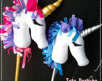 Stick horse / stick unicorn
