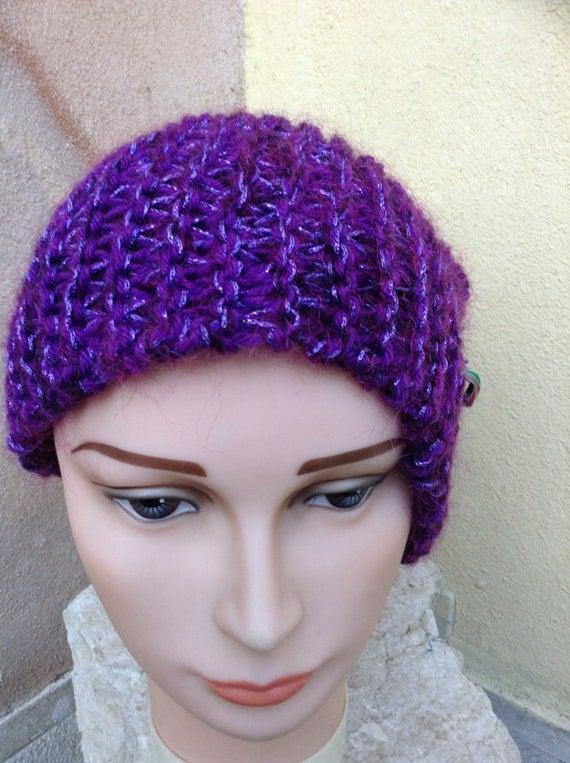 Purple beret The magic fashion ®