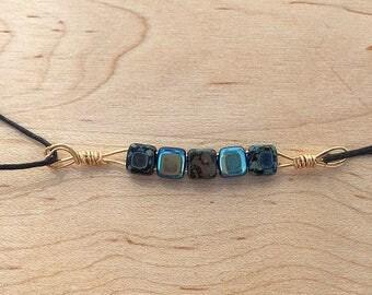 Beaded ocean bracelet
