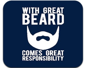 beard gift for dad | beard gift | father's day | father's day gift | Gift for him | Office gift | Dad Gift | Beard mouse pad