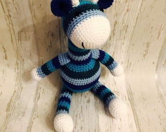 Crochet giraffe , keepsake, soft toy, gift, giraffe toy, baby gift, cute toy, amigurumi giraffe