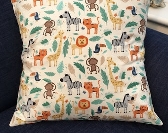 Jungle Cushion Cover