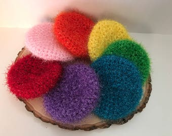 dish scrubbies- set of 2 dish scrubbies -dish scrubber-pan scrubbies-hostess gifts-kitchen gifts-ready to ship