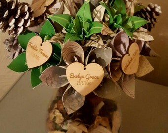 mothers day/Keepsake family gifts/personalised/custom/ handmade home decor perfect mothers day flowers.