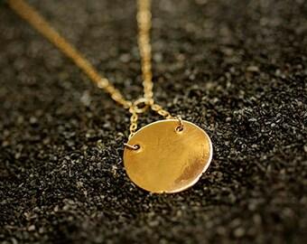 Sappho - Bronze Signal Necklace