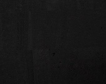 Natural Cork Fabric - Black