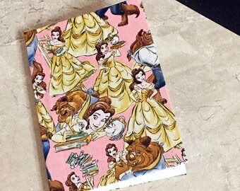 Beauty and the Beast Clothbound/Fabric Covered Notebook