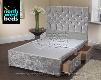 Ice White Divan Bed