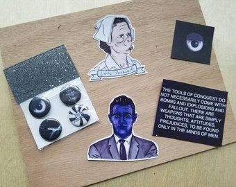 Twilight Zone Buttons & Stickers